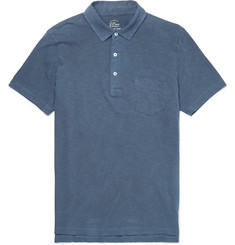 J.Crew - Slim-Fit Garment-Dyed Slub Cotton-Jersey Polo Shirt