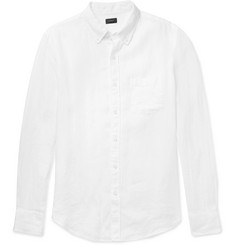 J.Crew Button-Down Collar Linen Shirt
