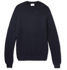 Kingsman Wool and Cotton-Blend Sweater