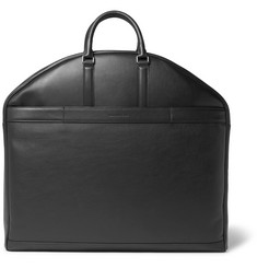 Ermenegildo Zegna Pelle Tessuta Leather Garment Bag