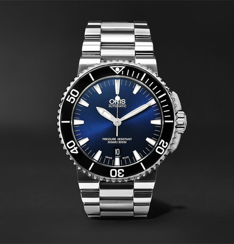Oris Aquis Date Automatic 43mm Stainless Steel Watch
