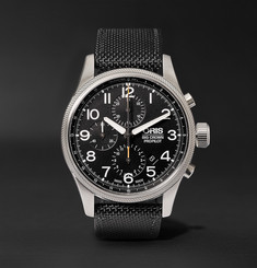 Oris - Pro Pilot Automatic Chronograph 44mm Stainless Steel and Canvas Watch