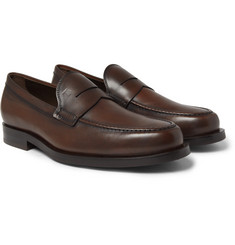Tod's - Leather Penny Loafers