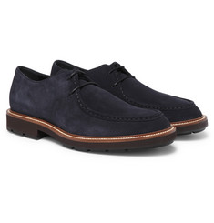 Tod's - Suede Derby Shoes