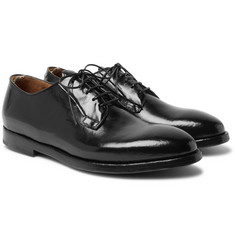 Officine Creative - Herve Polished-Leather Derby Shoes