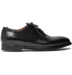 Officine Creative Herve Polished-Leather Derby Shoes