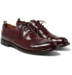 Officine Creative - Anatomia Polished-Leather Oxford Shoes