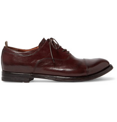 Officine Creative Anatomia Polished-Leather Oxford Shoes