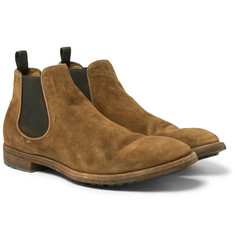 Officine Creative - Suede Chelsea Boots