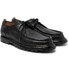 Officine Creative - Voltaire Textured-Leather Derby Shoes