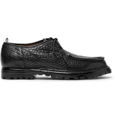 Officine Creative Voltaire Textured-Leather Derby Shoes