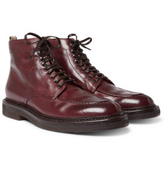Officine Creative - Stanford Distressed Leather Boots