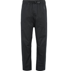 Nike NikeLab Essentials DWR-Coated Stretch Cotton-Blend Twill Trousers