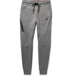 Nike Tapered Cotton-Blend Tech Fleece Sweatpants
