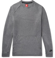 Nike - Sportswear Cotton-Blend Tech Fleece Sweatshirt