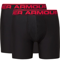 Under Armour Two-Pack Boxerjock HeatGear Boxer Briefs