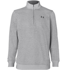 Under Armour Storm Fleece-Back Stretch-Jersey Half-Zip Golf Sweatshirt
