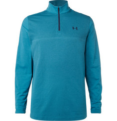 Under Armour Threadborne Stretch-Jersey Golf Top