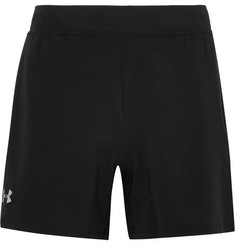 Under Armour - Speedpocket Mesh-Trimmed Stretch-Shell Shorts