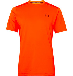Under Armour Raid Mesh-Panelled HeatGear T-Shirt