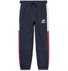 Nike Slim-Fit Striped Shell Sweatpants