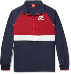 Nike Sportswear Colour-Block Shell Half-Zip Jacket