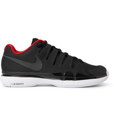 Nike Tennis - Zoom Vapor 9.5 Tour Rubber-Trimmed Mesh Tennis Sneakers