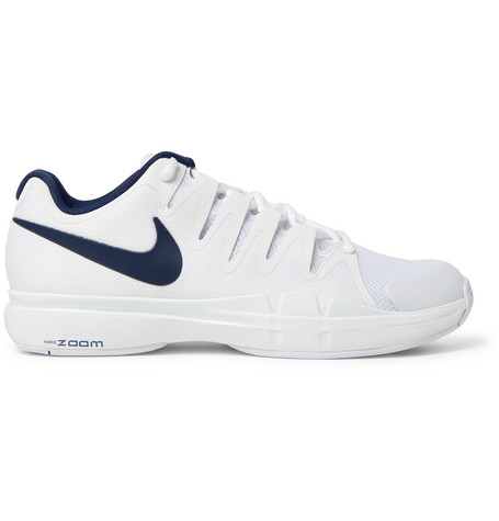 Nike  ZOOM VAPOR 9.5 TOUR RUBBER-TRIMMED MESH TENNIS SNEAKERS