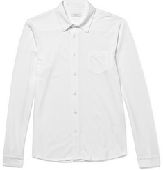 Sunspel Slim-Fit Pima Cotton-Piqué Shirt