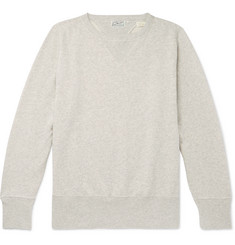 Levi's Vintage Clothing 1930s Bay Meadows Mélange Loopback Cotton-Jersey Sweatshirt