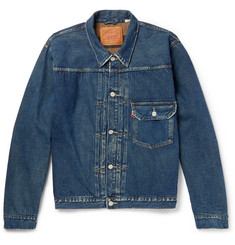 Levi's Vintage Clothing 1936 Type 1 Distressed Denim Jacket