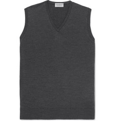 John Smedley Hadfield Merino Wool Sweater Vest