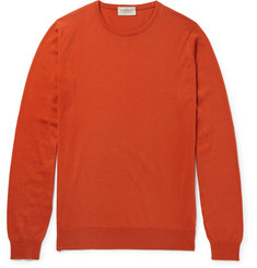 John Smedley Hatfield Sea Island Cotton Sweater