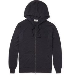 John Smedley - Reservoir Merino Wool Zip-Up Hoodie
