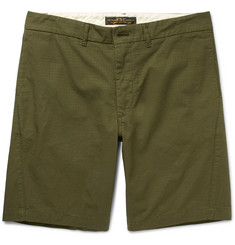 Freemans Sporting Club Arc Cotton-Ripstop Shorts