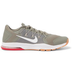 Nike Training Zoom Train Complete Mesh and Rubber Sneakers