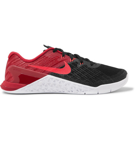 Metcon 3 Textured-mesh And Rubber Sneakers Nike aa3dJW