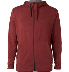 Nike Training Mélange Dri-FIT Jersey Zip-Up Hoodie
