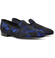 Richard James - Camouflage Jacquard Slippers