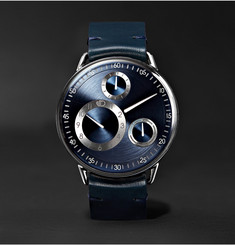 Ressence - Type 1 MRP Mechanical 42mm Titanium and Leather Watch