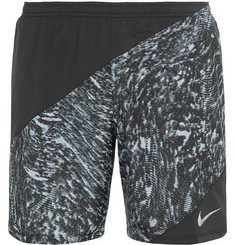 Nike Running Perforated Printed Shell Shorts