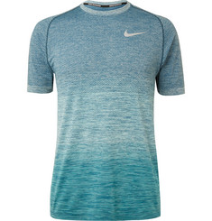 Nike Running - Mélangé Knitted Dri-FIT T-Shirt