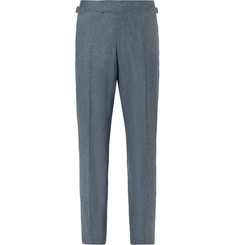 Richard James Seishin Slim-Fit Mélange Stretch-Wool Suit Trousers