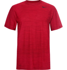 Nike Running Breathe Mélange Dri-FIT T-Shirt