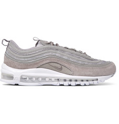 Nike Air Max 97 Suede, Leather and Mesh Sneakers