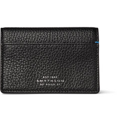 Smythson Burlington Full-Grain Leather Bifold Cardholder