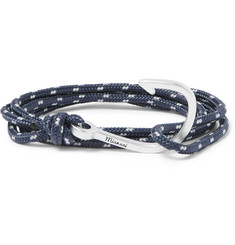 Miansai - Hook Cord Silver-Plated Wrap Bracelet