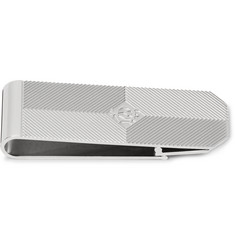 Dunhill - Embossed Silver-Tone Money Clip