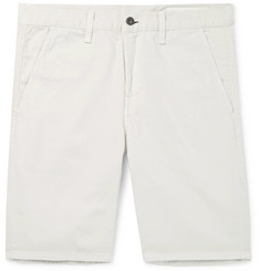 rag & bone Standard Issue Cotton-Twill Shorts