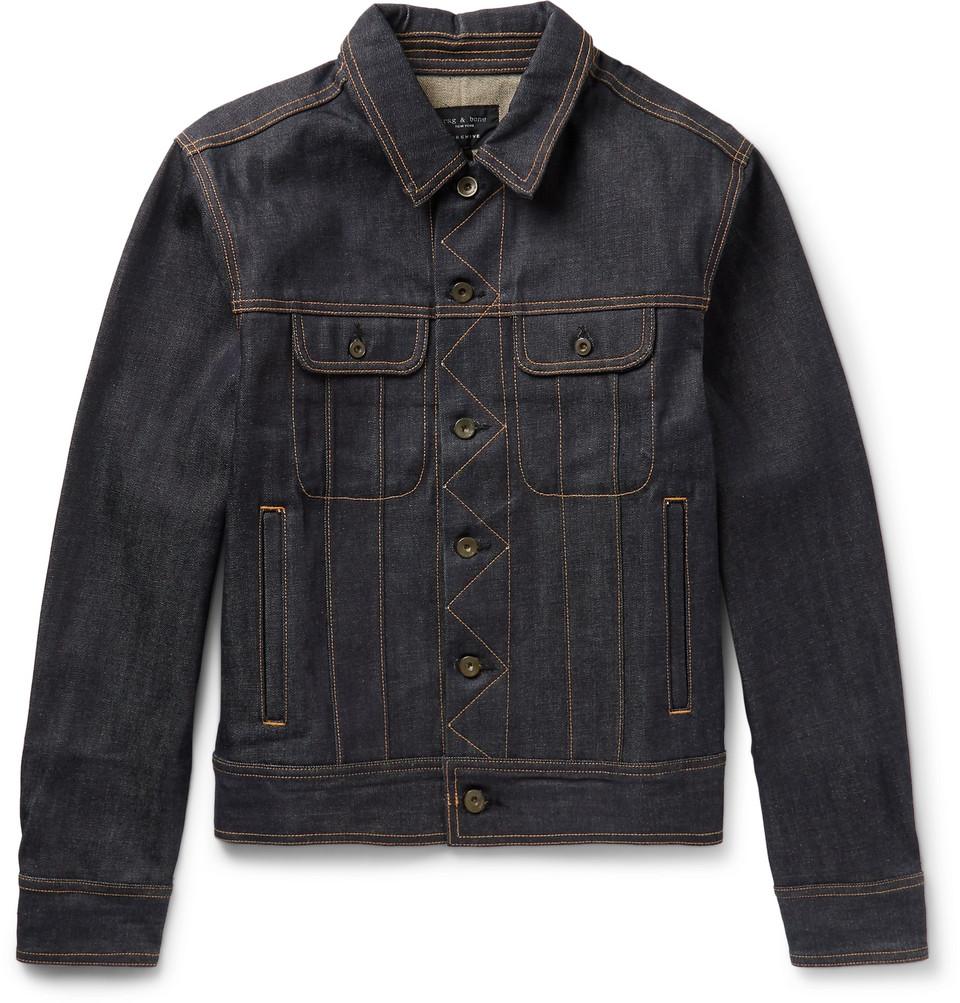rag & bone Selvedge Denim Jacket